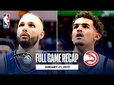 Full Game Recap: Magic Vs Hawks | Fournier & Vucevic Combine For 58 Points