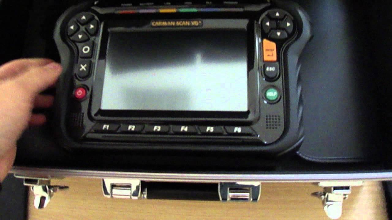 Professional Diagnostic Scanner - Carman Scan Vg   Review