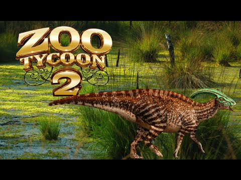 Zoo Tycoon 2: Parasaurolophus Exhibit Speed Build