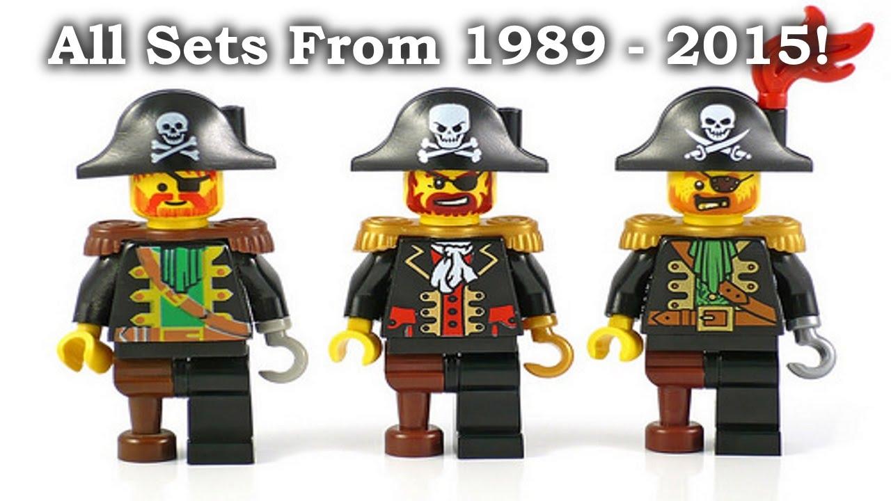 all lego pirates sets 1989 2015 youtube - Lego Pirate