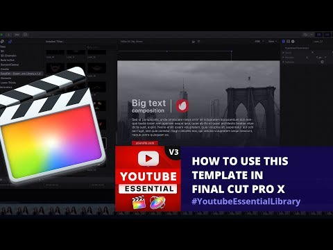 EasyEdit pro | Youtube Essential Library for After Effects