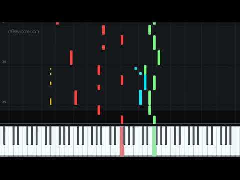 El Secreto de Puente Viejo [Piano Tutorial + Sheet music] thumbnail