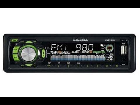 Ремонт автомагнитолы CALCELL CMР-3030. Не читает флешки USB.