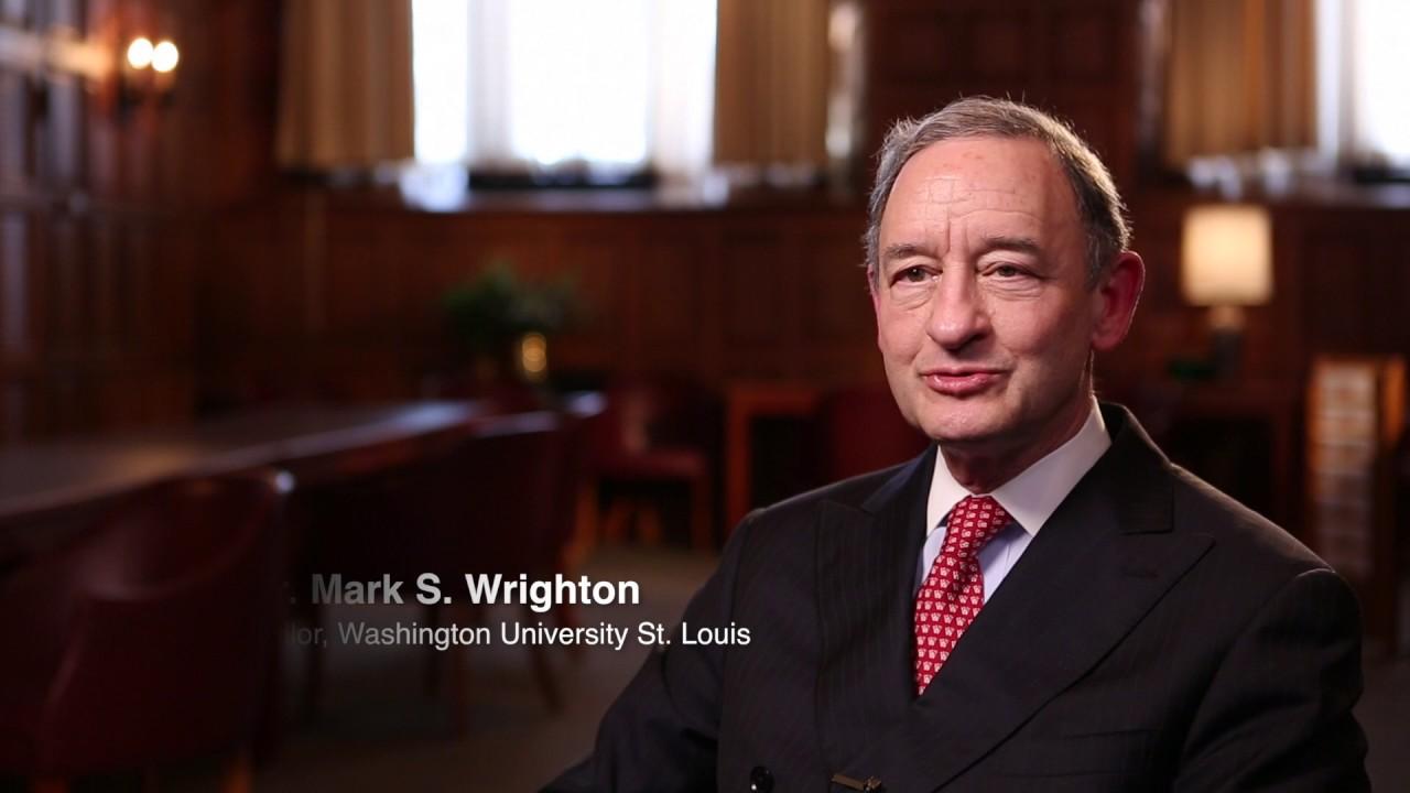 Dr Mark Wrighton On Washington University S Impact On The Community Youtube