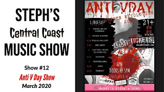 Burger Revolution 2020/Anti-V Day Show- Punk, Death Metal & Alternative Music