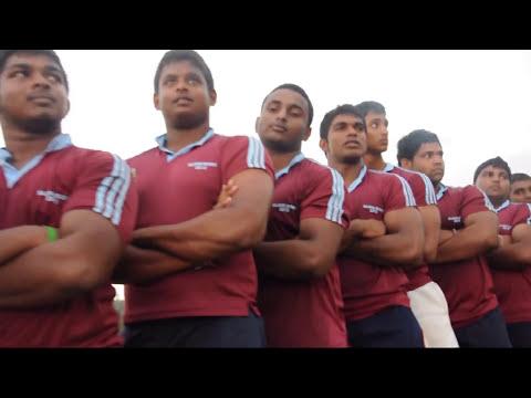 SINGHA PUTHUN - A Tribute to Dharmaraja College RUGBY!!