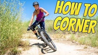 How To Corner A Mountain Bike - Better Flat Turns In 1 Day