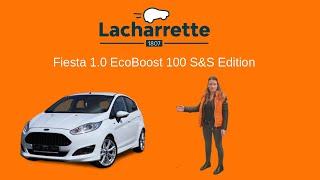 🚗Présentation  Ford Fiesta 1.0 EcoBoost 100 S&S Edition de 2017 et 27000Kms VO 23669
