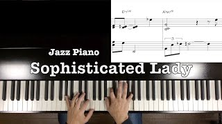 """Sophisticated Lady""Jazz Piano -Duke Ellington-"