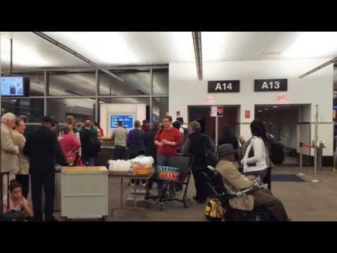Boston Airport Tour 11 hour delay