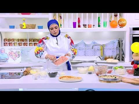 صورة  طريقة عمل البيتزا طريقة تحضير بيتزا الدجاج | نجلاء الشرشابي طريقة عمل البيتزا بالفراخ من يوتيوب
