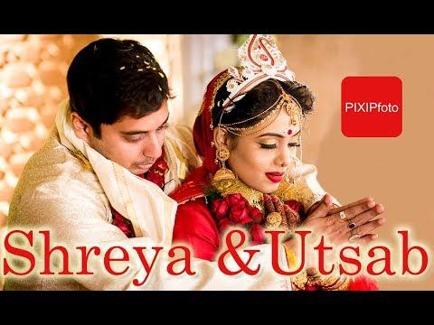 MOST AWAITED BENGALI WEDDING CINEMATOGRAPHY From PIXIPfoto Kolkata   Shreya Utsab