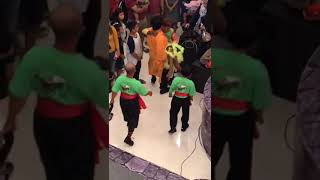 Lion dance attraction in falling accident Part 2