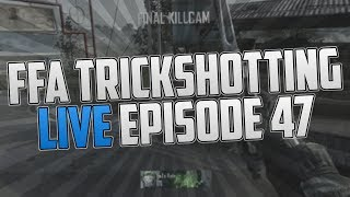 FaZe Rain : FFA TrickShotting Live Commentary Ep.47 (FIRST TRY!?)