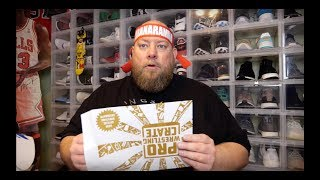 PRO WRESTLING CRATE March 2019 Monthly Subscription Box