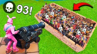 *WORLD RECORD* 93 KILLS IN 8 SECONDS! - Fortnite Funny Fails and WTF Moments! #534