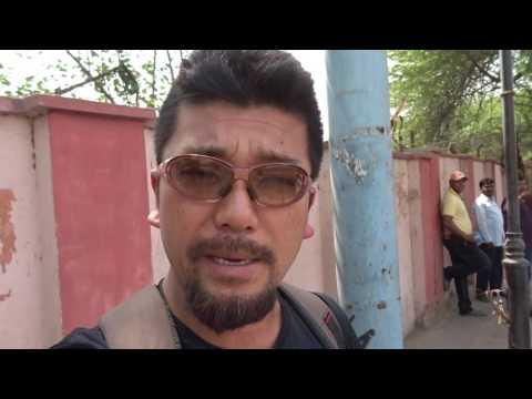 アキーラさん訪問①インド・アーグラ・アーグラー城!Agra-fort,Agra,India