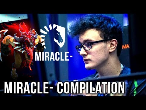 Miracle- Gameplay Compilation Road to TOP-1 Mission - Dota 2 Tryhard Mode ON! thumbnail