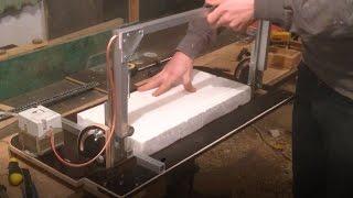 як зробити прилад для різання пінопласту
