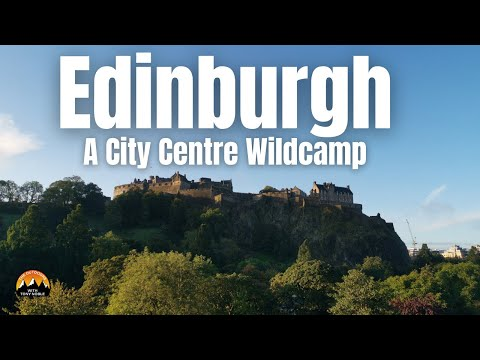 An Edinburgh City Centre Wildcamp In The VW Camper - Photos, Beer And A Special Guest Appearance!