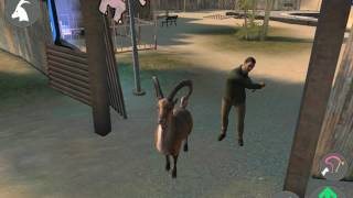 How to go in the moon in goat simulator payday but the moon is a trap! Drill opens door sanctum 3