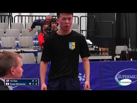 2017 US Open Men's Singles Quarterfinal - Kohei Morimoto v Ye Tian (Full Match)