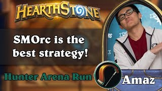 Amaz Hearthstone Arena - SMOrc is the best strategy!
