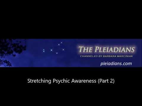 Barbara Marciniak - Stretching Psychic Awareness (Part 2)