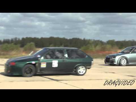 видео: Харченко Мария ВАЗ 2112 против Подолян Евгений ВАЗ 2108