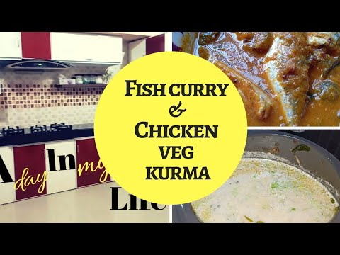 Fish Curry/Chicken and Veg Kurma- Taste Tours by Shabna hasker