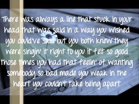 Eli Young Band - Always the Love Songs Lyrics