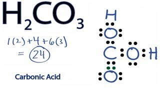 h2co3 lewis structure how to draw the lewis structure for carbonic acid