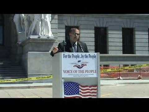 Daryl Metcalfe - Voice of the People Rally - Harrisburg, PA