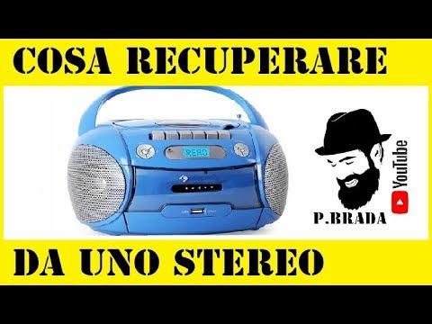 Cosa recuperare da uno stereo portatile prima di buttarlo by Paolo Brada DIY from YouTube · Duration:  4 minutes 19 seconds
