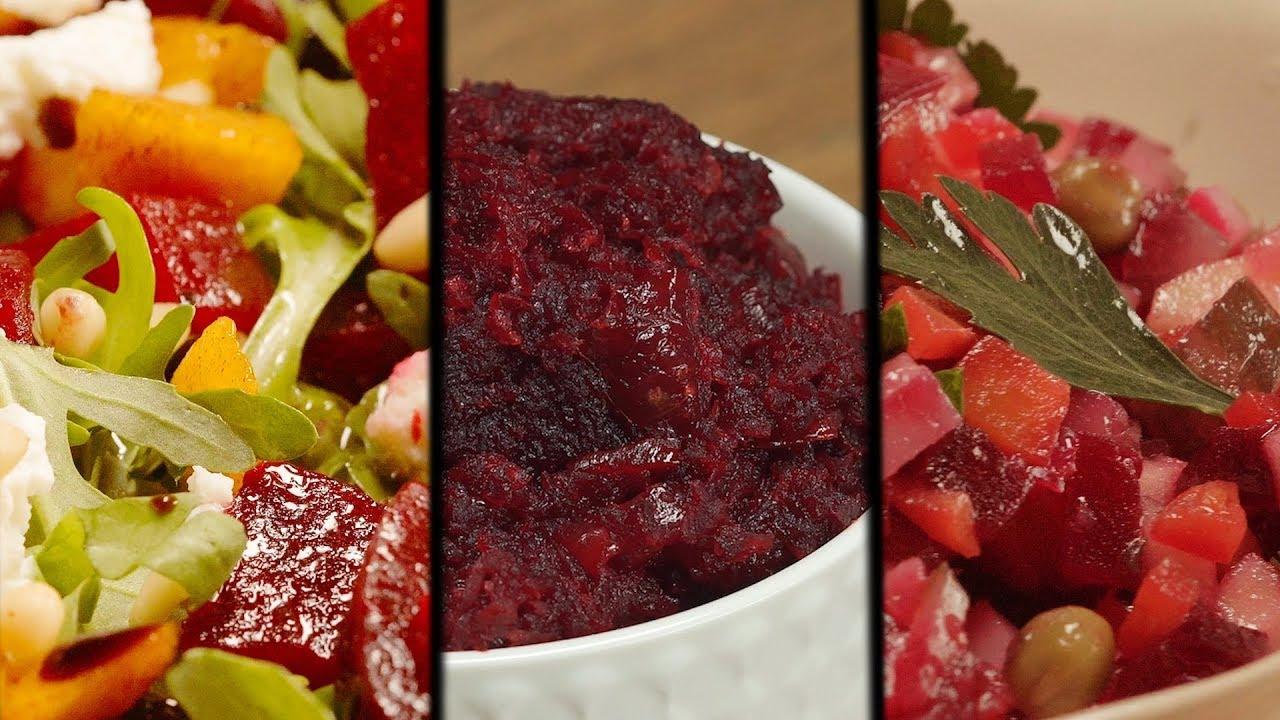 3 салата из свеклы. Рецепт от Всегда Вкусно! - YouTube