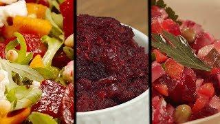 3 салата из свеклы. Рецепт от Всегда Вкусно!