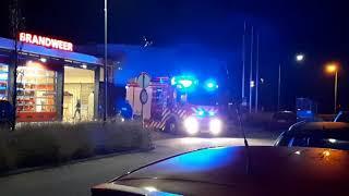 PRIO-1 Brandweer Sommelsdijk/Middelharnis (OLYMPIA) onderweg naar AED! 17-4531