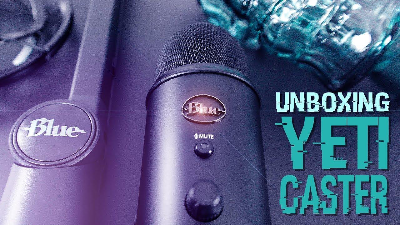 BLUE Microphones YETiCASTER Broadcast Set   TOP Mikrofon für ASMR, Let's  Play, Streamen   UNBOXiNG