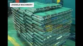 PU Sandwich Panel Line - Zhongji Machinery