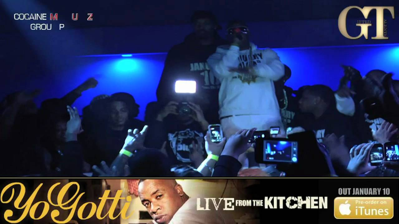 yo gotti performs in memphis for christmas + free bottles! - youtube