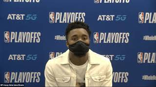 Donovan Mitchell Postgame Interview - Game 1 | Jazz vs Nuggets | August 17, 2020 NBA Playoffs