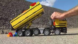 Dump Truck 10x4 in Technic Lego (HD video)