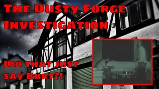 The Dusty Forge Investigation