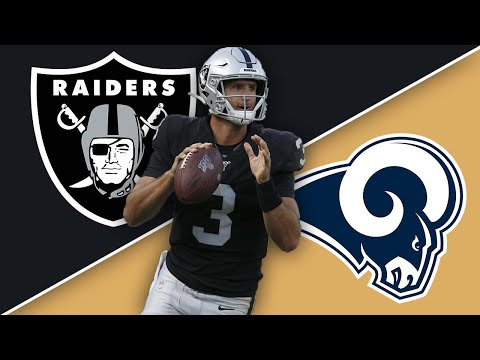 Oakland Raiders Vs LA Rams Preseason Week 1 Recap