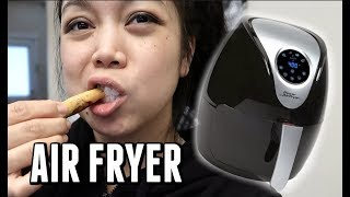 Testing out an AIR FRYER!!!-  ItsJudysLife Vlogs