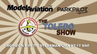 the toledo show horizon e flite stearman umx pt 17 bnf