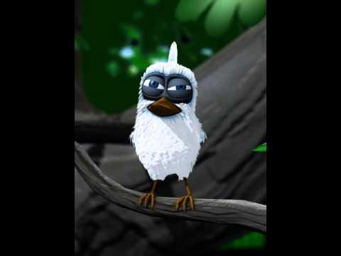 L'oiseau qui s'appelle bisou