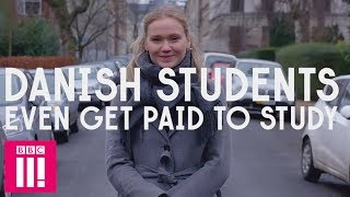 How Students In Denmark Get Paid To Go To University