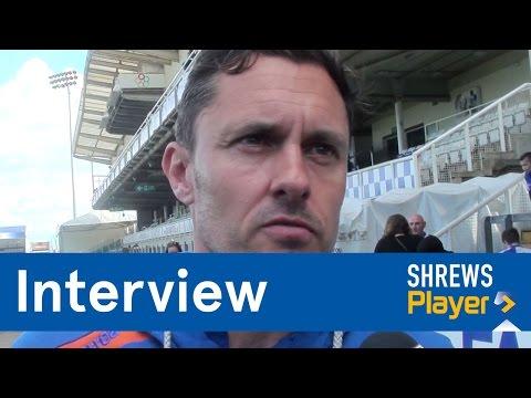 INTERVIEW | Paul Hurst post Bristol Rovers (A) - Town TV