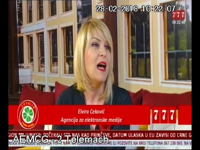 TV 777   Uz Jutarnju kafu Elvira Cekovic   kampanja Birajmo sta gledamo   28 02 2018